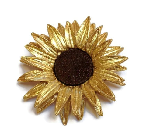 Silver Seasons - Michael Michaud - Sunflower Pin