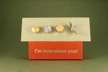 Vilmain Pewter - Nuts About You Magnets