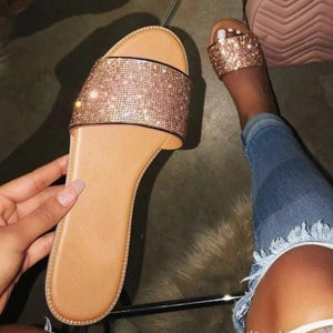 Crystal Clear Sandals