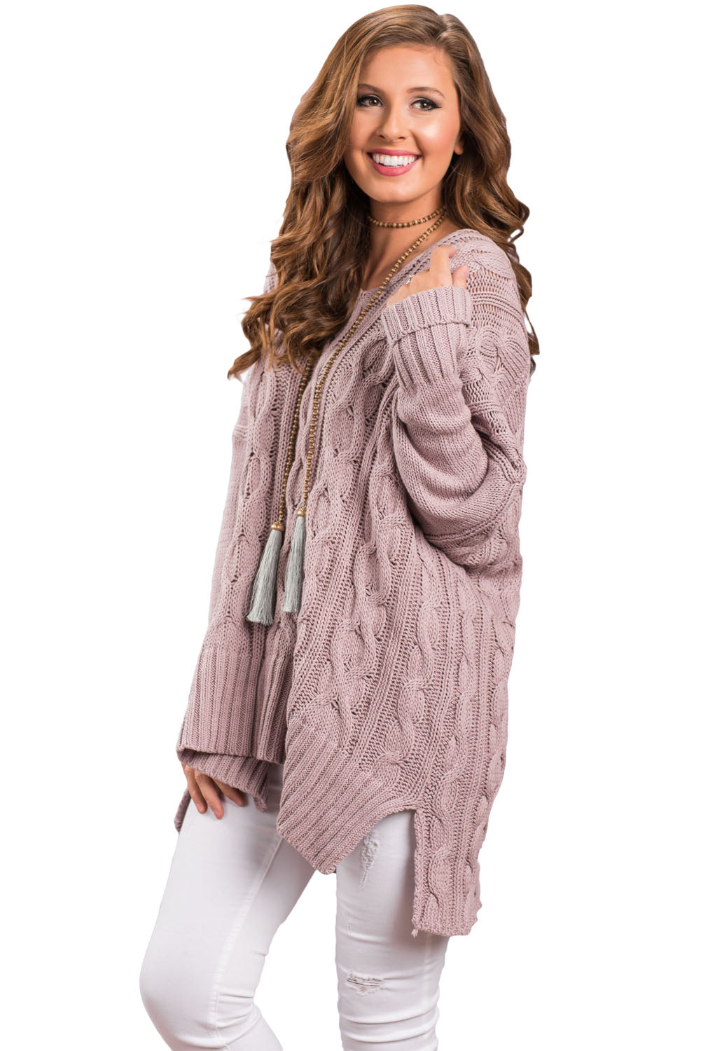 Taro Oversized Cozy up Knit Sweater