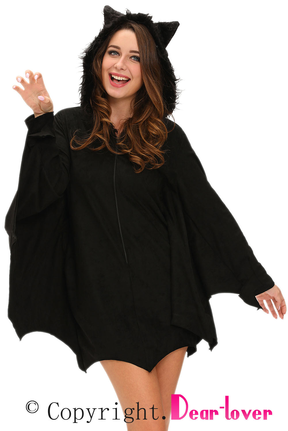 All in Black Bat Adult Costume