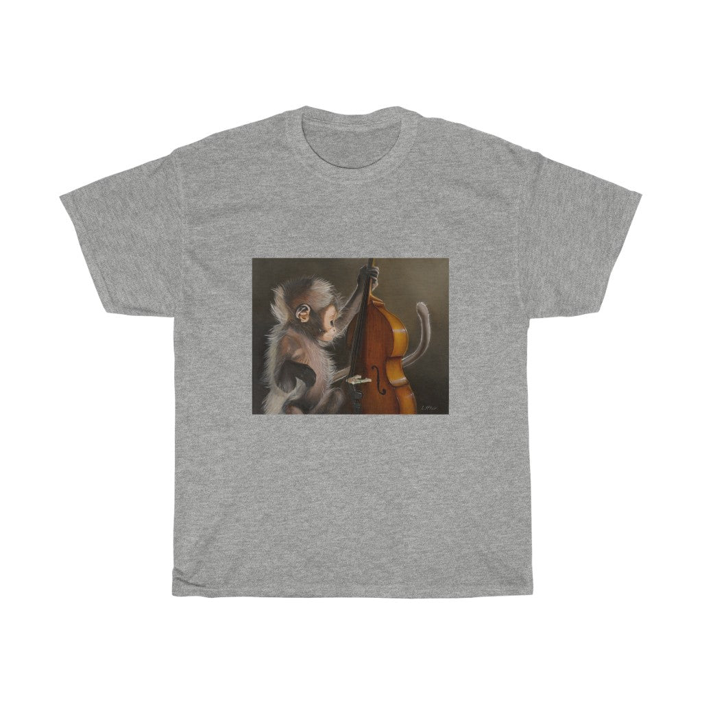 T-Shirt - Bass Monkey, Loretta McNair