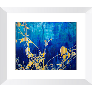 Framed Print - Wildflower Abstract 1, Jonathan Molvik