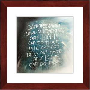 Framed Print - A Hero's Words, Laura Seeley