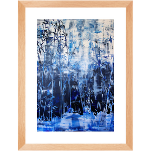 Framed Print - Hillside Abstract, Jonathan Molvik