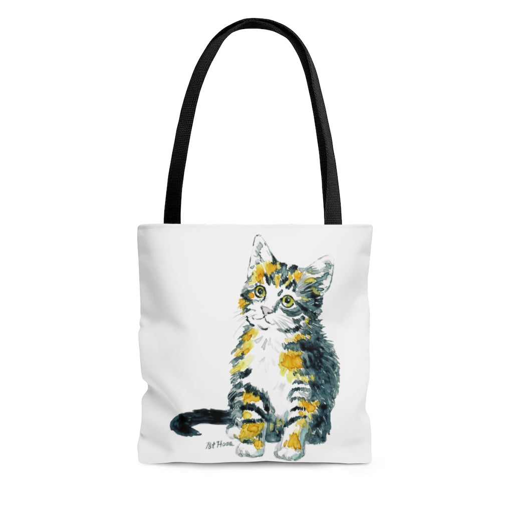 Tote Bag -  Calico Kitten, Pat Haas