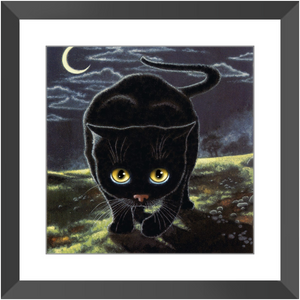 Framed Print - The Hunter, Laura Seeley
