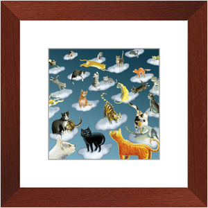 Framed Print - Cloud Catchers, Laura Seeley