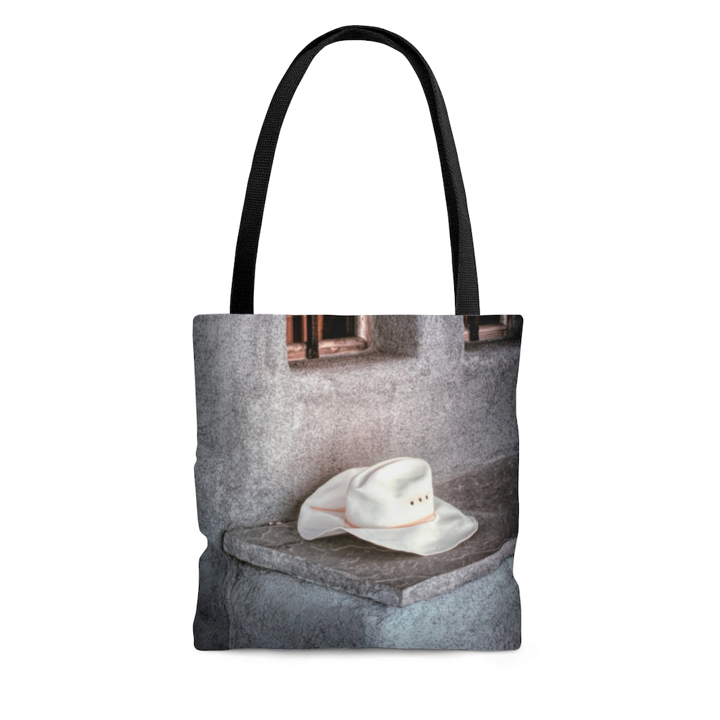 Tote Bag - The Worn Hat, New Mexico, Pat Cahill