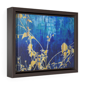 Framed Gallery Wrap - Wildflower Abstract 1, Jonathan Molvik