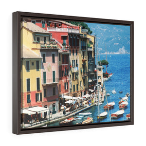 Framed Gallery Wrap - Italian Riviera, Pam Fall