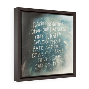 Framed Gallery Wrap Canvas - A Hero's Words, Laura Seeley