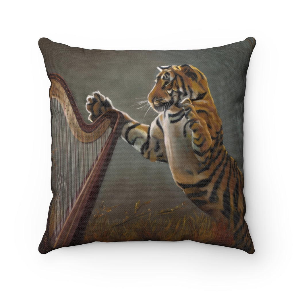 Pillow - Harpin' Tiger, Loretta McNair
