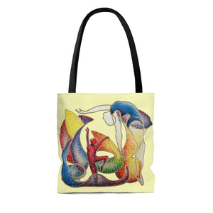 Tote Bag - The Performance (pale yellow), Root Woods