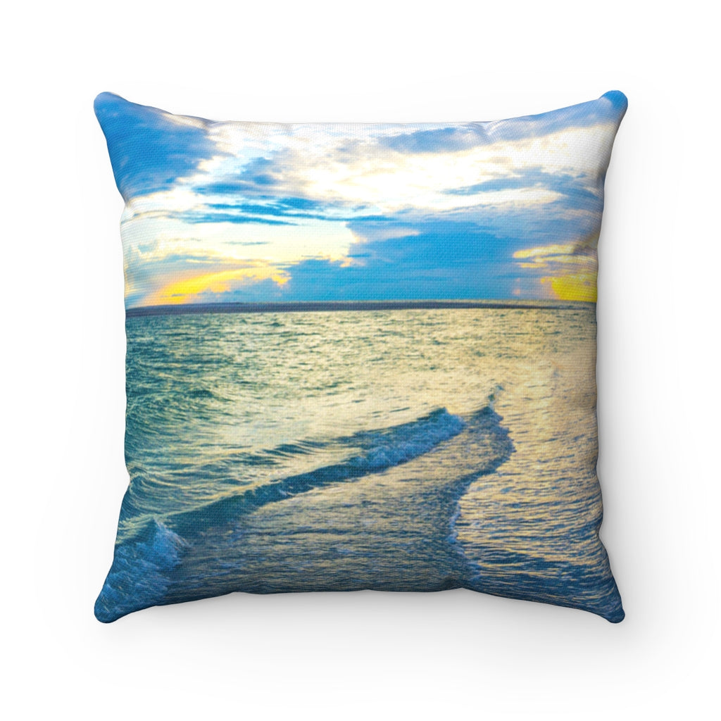 Pillow - Blue Sea Glass, Joy Garafola