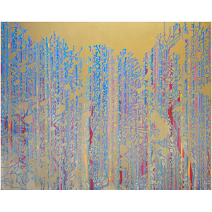 Metal Print - Primary Forest Icon, Jonathan Molvik