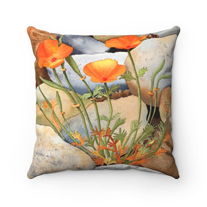Pillow - Poppy Pathway, Emilee Reed