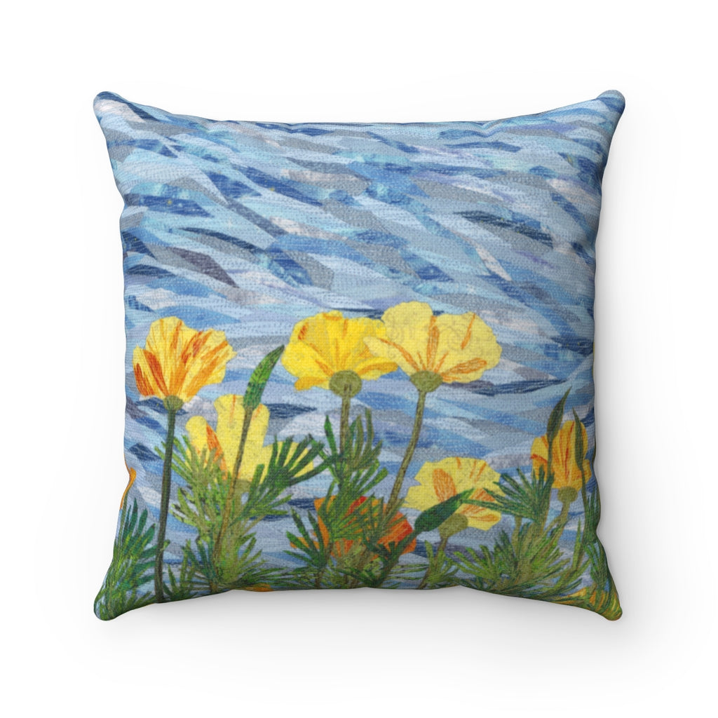 Pillow - California Poppies, Loretta Alvarado