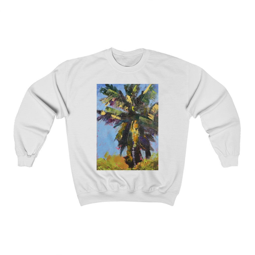 Sweatshirt - Frenzied Palm, Laurie Miller
