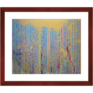 Framed Print - Primary Forest Icon, Jonathan Molvik