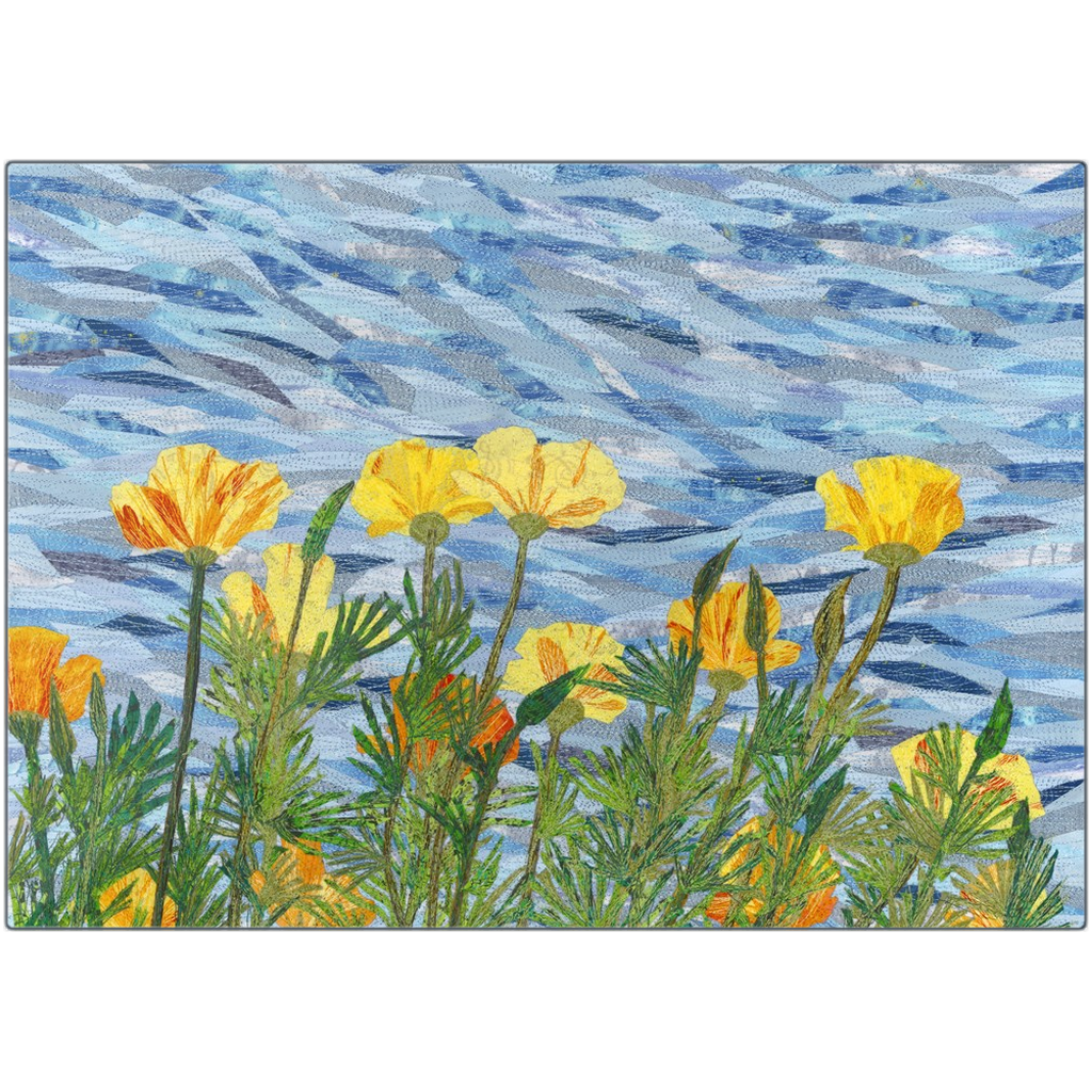 Metal Print - California Poppies, Loretta Alvarado