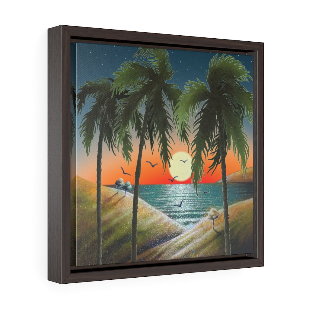 Framed Gallery Wrap - Inhale, Laura Seeley