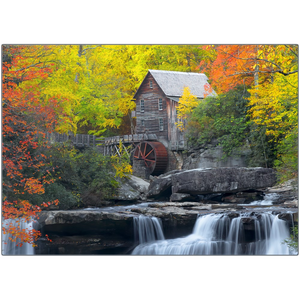 Metal Print - Glade Creek Grist Mill - West Virginia, Michael Cahill