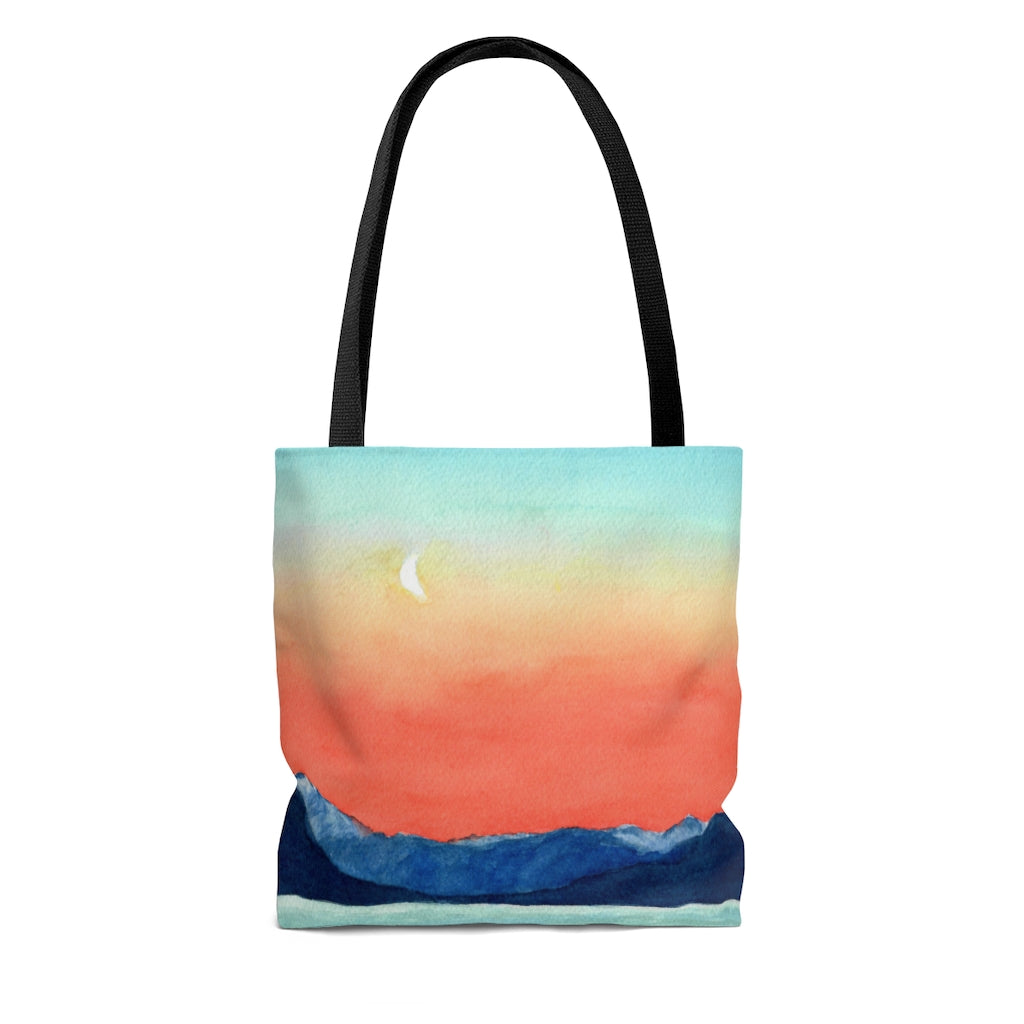 Tote Bag - Moon Rising, Pat Haas
