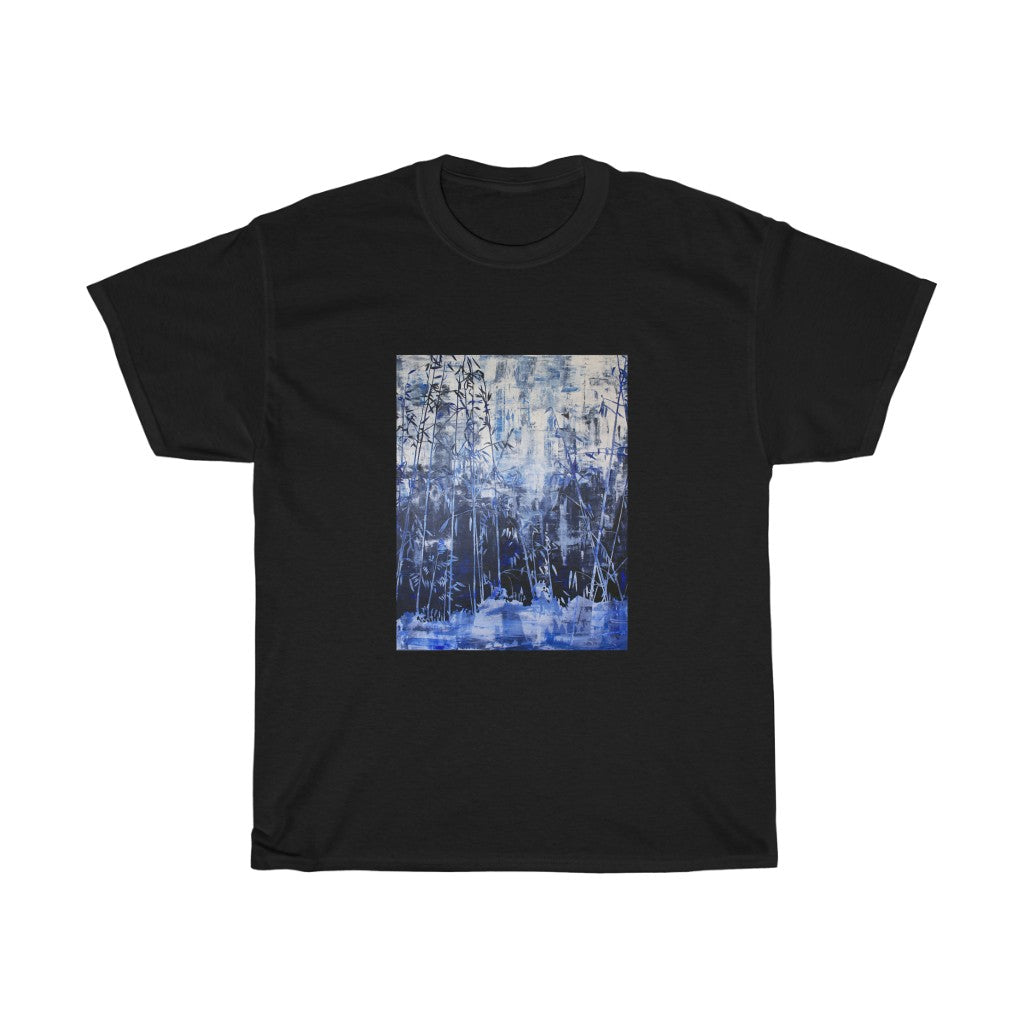 T-Shirt - Hillside Abstract, Jonathan Molvik
