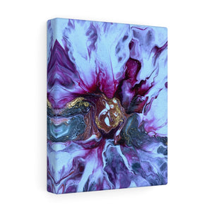 Gallery Wrap - Abstract Magenta Flower, Meryl Epstein
