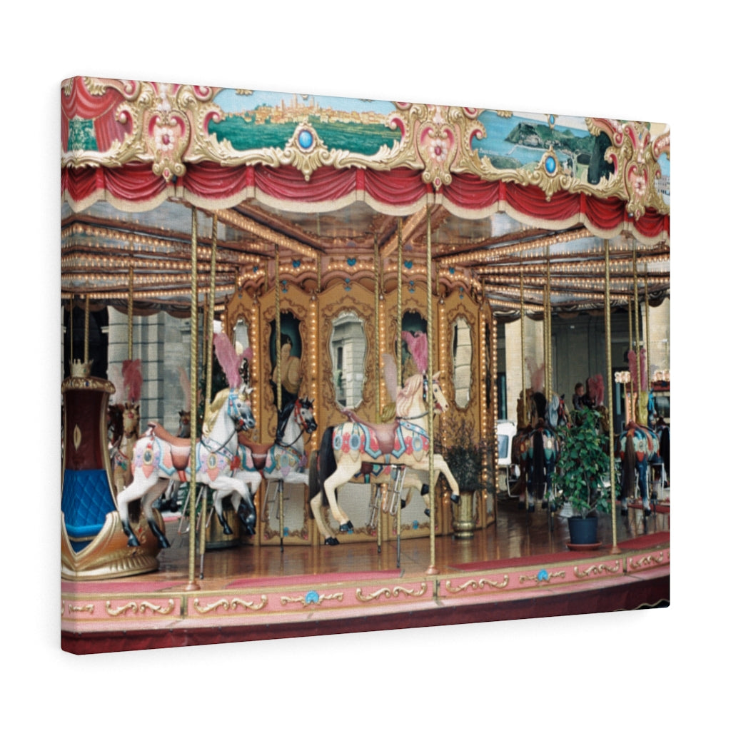 Gallery Wrap - Carousel, Florence, Pam Fall