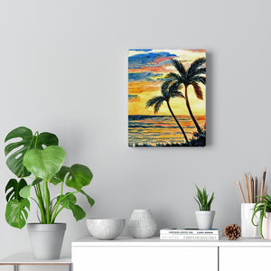 Gallery Wrap - Tropical Sunset, Pat Haas