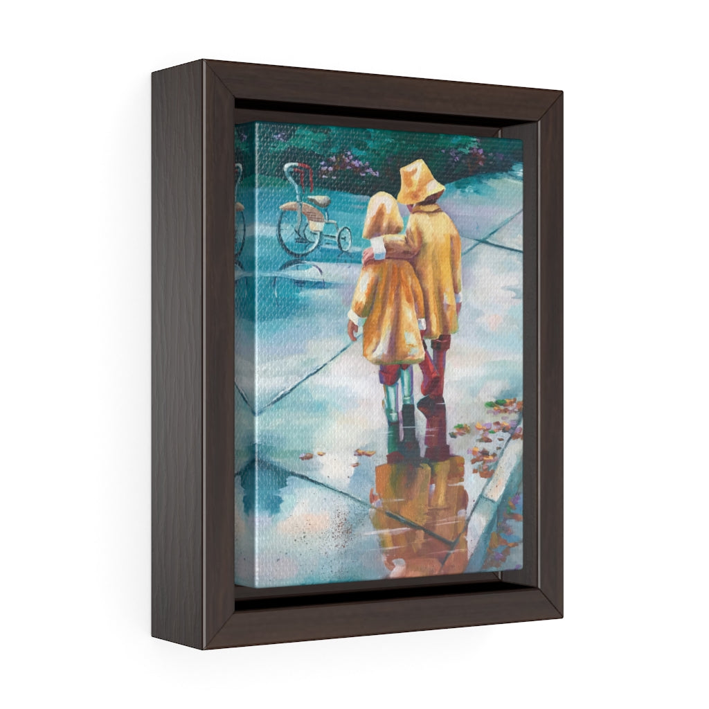Framed Gallery Wrap Canvas - Best Friends, Barbara Palmer-Davis