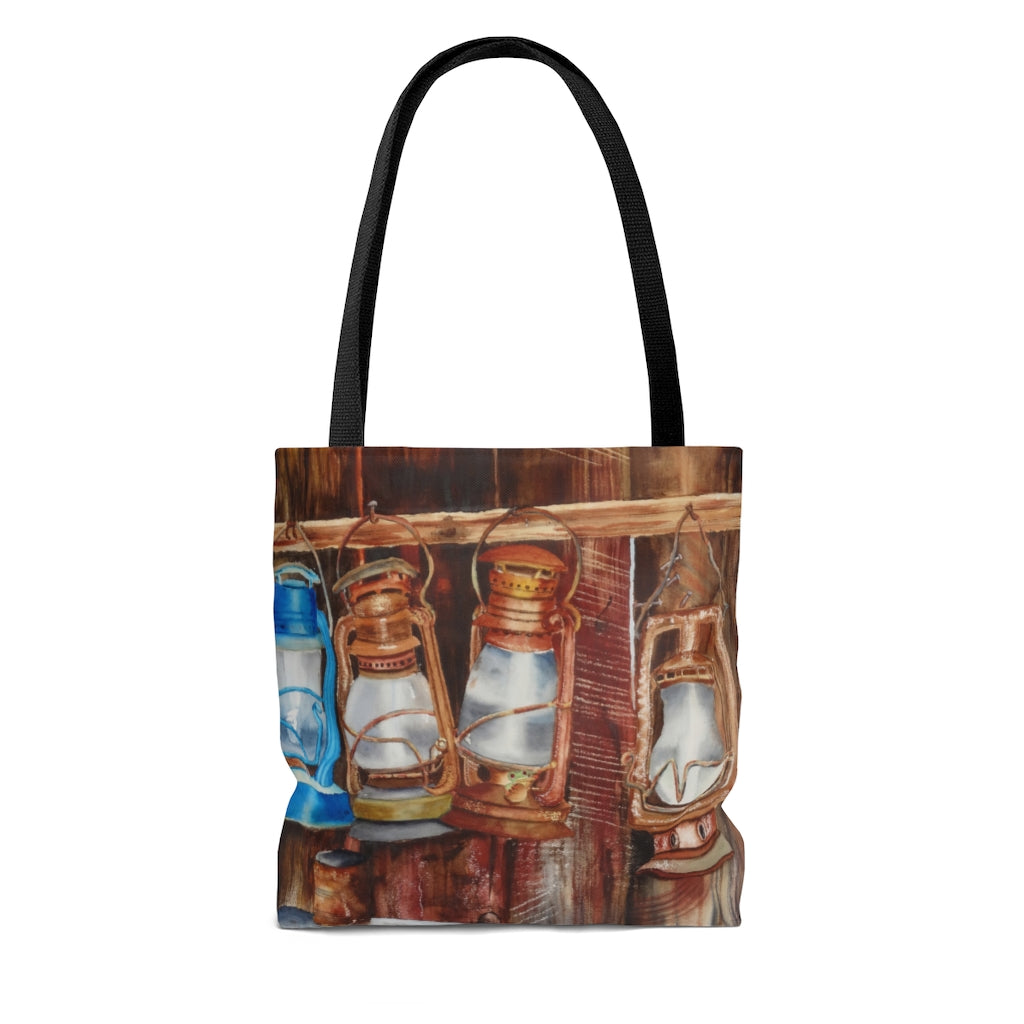 Tote Bag - Lanterns, Emilee Reed
