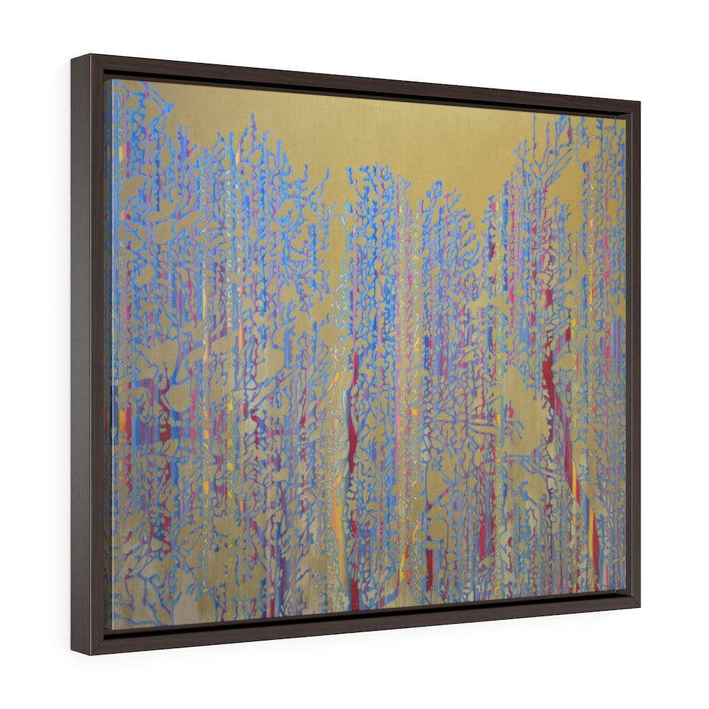 Framed Gallery Wrap - Primary Forest Icon, Jonathan Molvik