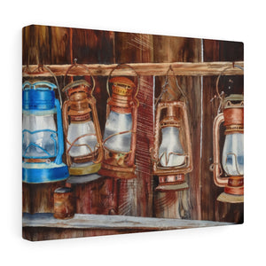 Gallery Wrap - Lanterns, Emilee Reed