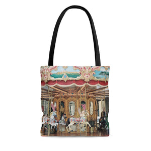 Tote Bag - Carousel, Florence, Pam Fall