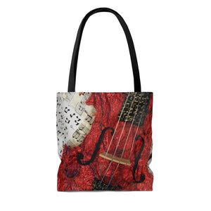 Tote Bag - The Red Violin, Loretta Alvarado