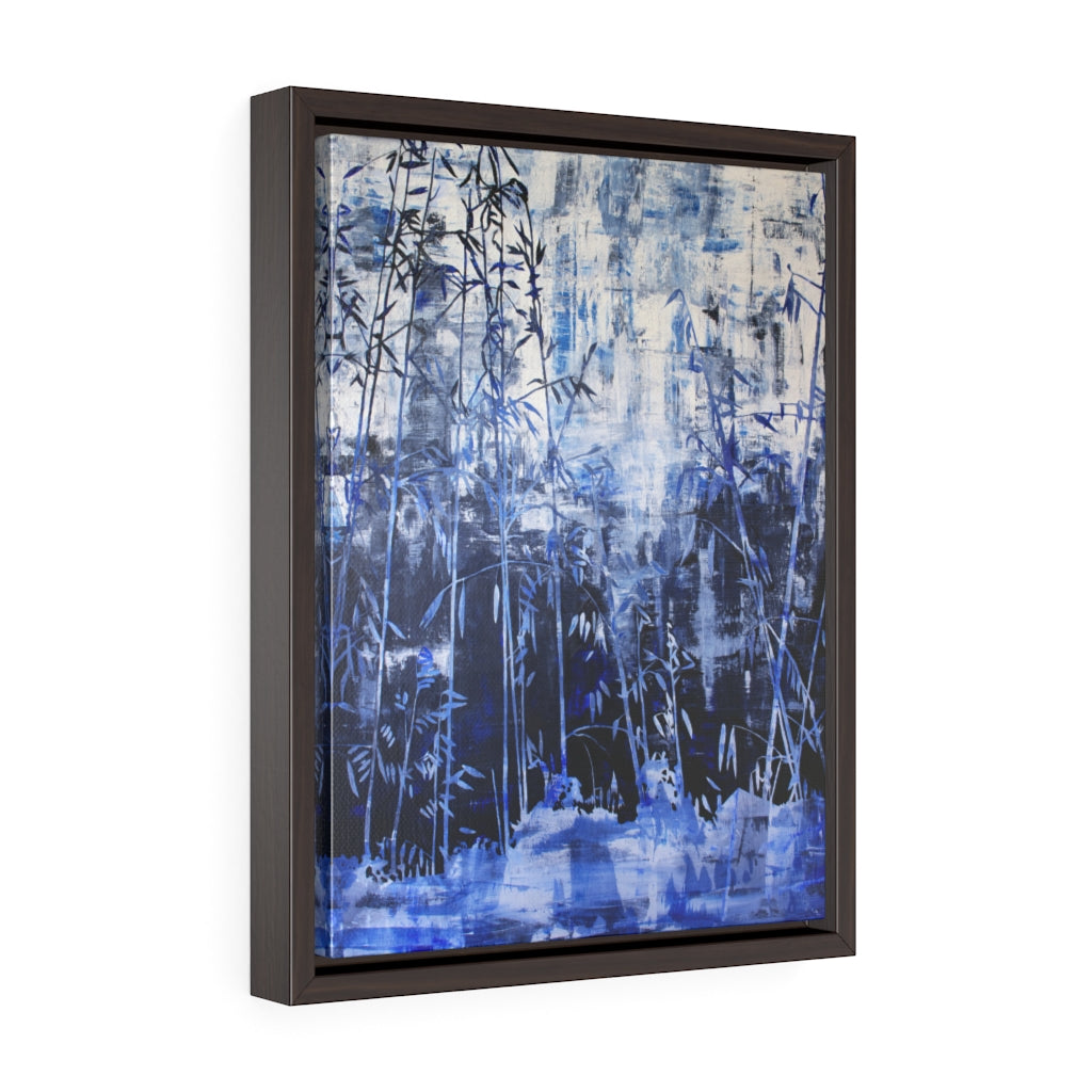 Framed Gallery Wrap - Hillside Abstract, Jonathan Molvik