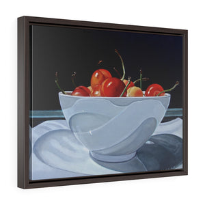 Framed Gallery Wrap - Bowl of Cherries, Meryl Epstein