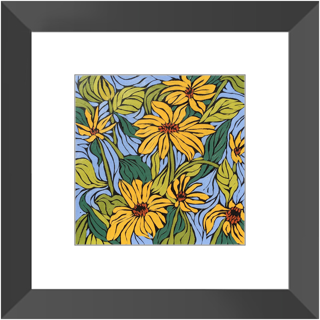 Framed Print - Sun Power, Monique Straub