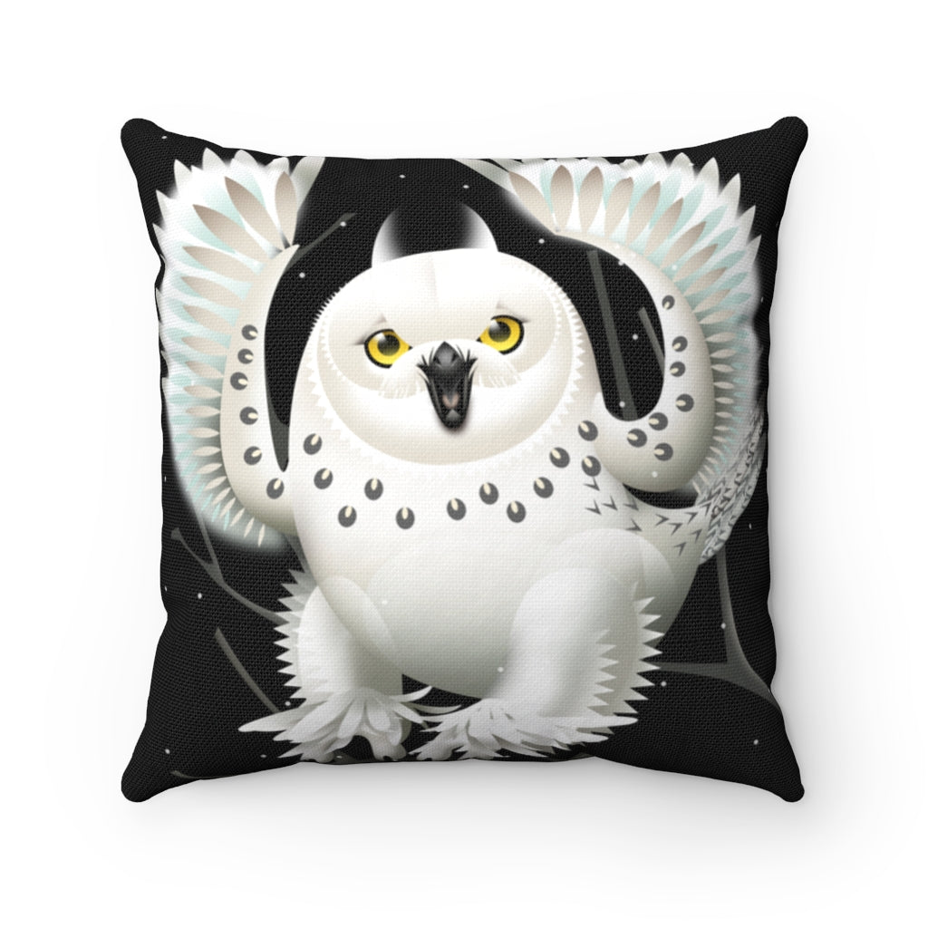 Pillow - Snowy Owl, Amy Ning