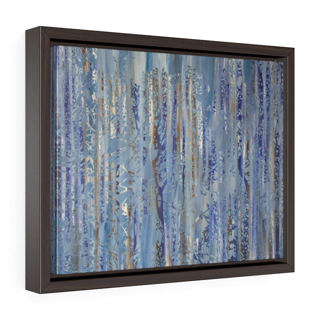 Framed Gallery Wrap - Forest Abstract 1, Jonathan Molvik