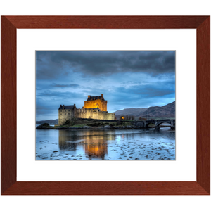 Framed Print - Eilean Donan Castle at Night - Scotland, Michael Cahill