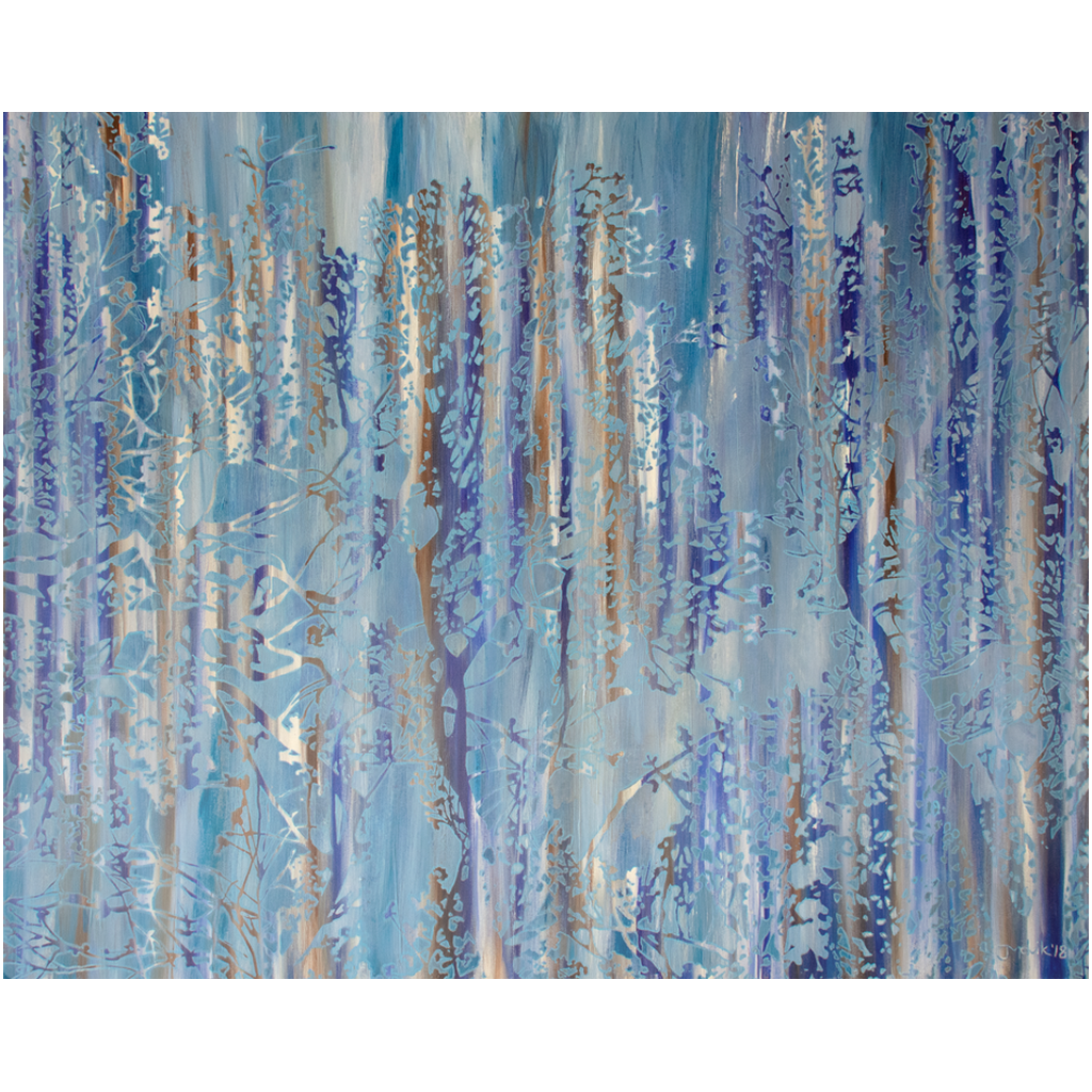 Metal Print - Forest Abstract 1, Jonathan Molvik