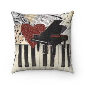 Pillow - I Love Piano, Loretta Alvarado