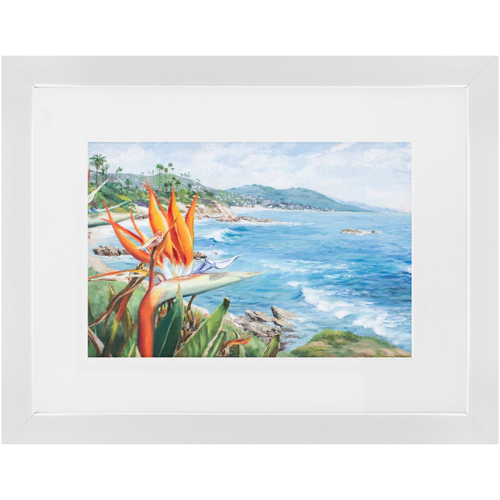 Framed Print - Birds of Laguna, Phoebe Siemion