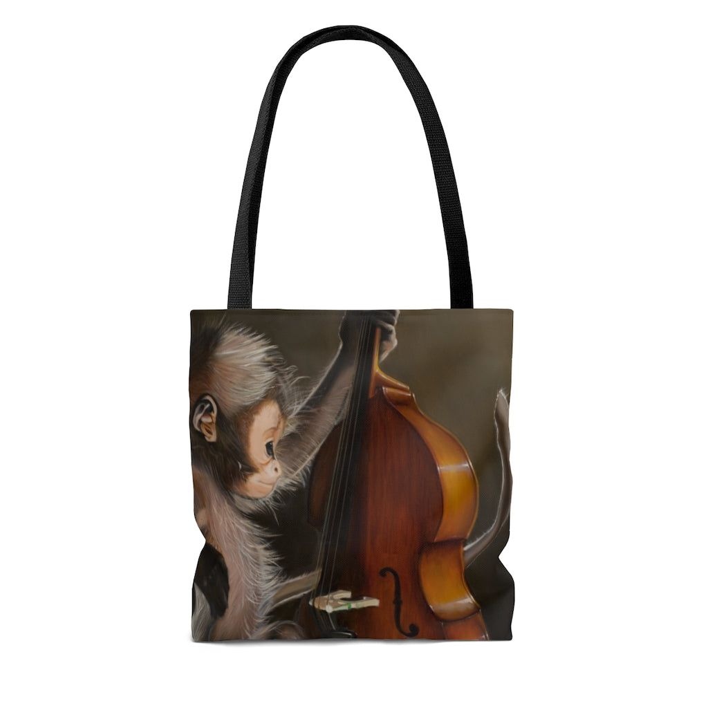 Tote Bag - Bass Monkey, Loretta McNair