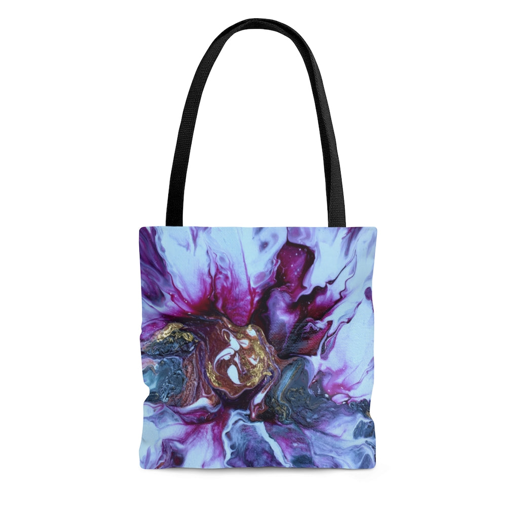 Tote Bag - Abstract Magenta Flower, Meryl Epstein