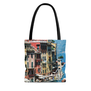 Tote Bag - Italian Riviera, Pam Fall